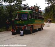bus to El Nido